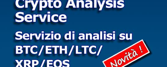 ANALISI CRYPTO SETT 9 SETTEMBRE 2019